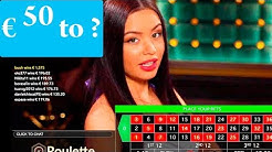50 EURO to ???? ONLINE CASINO ROULETTE #40
