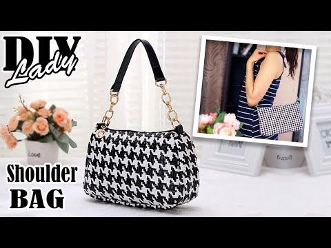 DIY POPULAR DESIGN PURSE BAG // Cute Casual Tote Bag Tutorial