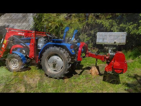 Chinese flail mower (mulcher) max down angle