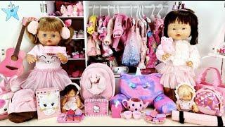 Ani y Ona estrenan más de 100 accesorios todos de color rosaLas muñecas más entrañables de youtube