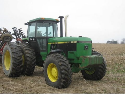 1988 John Deere 4850 with 5463 Hours Sold on Pennsylvania Farm Auction 4/22/17