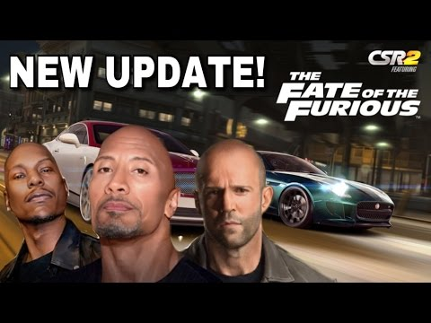 The Fate of The Furious NEW UPDATE! | CSR Racing 2