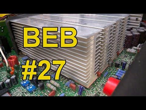 QSC Power Amplifier PLX3402 Amp Repair (Part 1) BEB #27