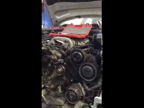 2003 Audi A6 30 engine timing belt replacement - YouTube