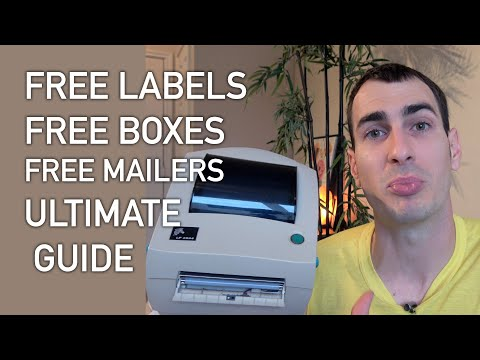 ULTIMATE GUIDE to FREE Shipping Supplies for eBay, Amazon, Poshmark, Etsy