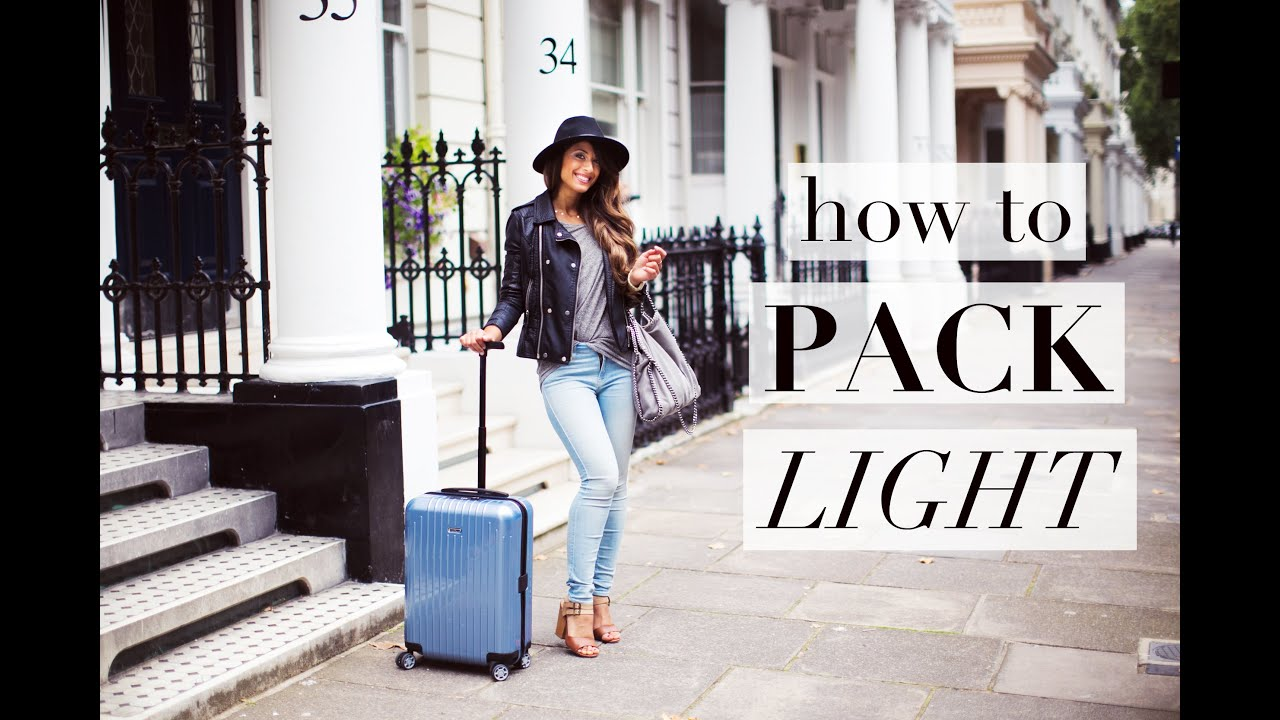 Hasil gambar untuk How To Packing and Travel Light at the Same Time?