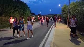 Strade sicure, la fiaccolata del Comitato a Montenero di Bisaccia