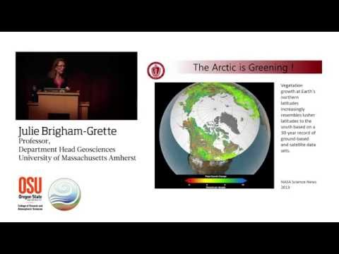 Tracing Arctic Climate Evolution: Prof Julie Brigham-Grette (May 2015)