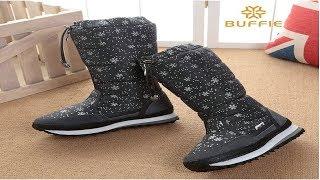 Best Buffie winter female women boots in Aliexpress |Buffie winter female women boots review