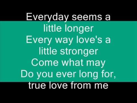 Buddy Holly - Everyday  (with lyrics)