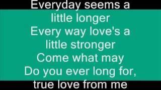Buddy Holly - Everyday  (with lyrics)