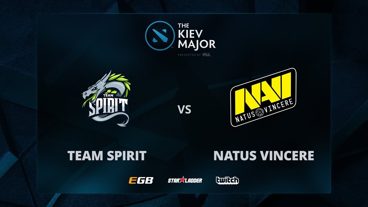 Team Spirit vs Na'Vi, Game 2, The Kiev Major CIS Main Qualifiers Play-off