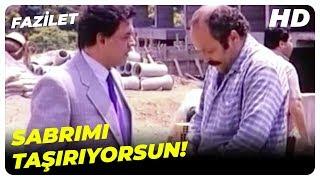 Patronun Lafları, Aziz'e Ağır Geldi! | Fazilet Hülya Avşar Türk Filmi