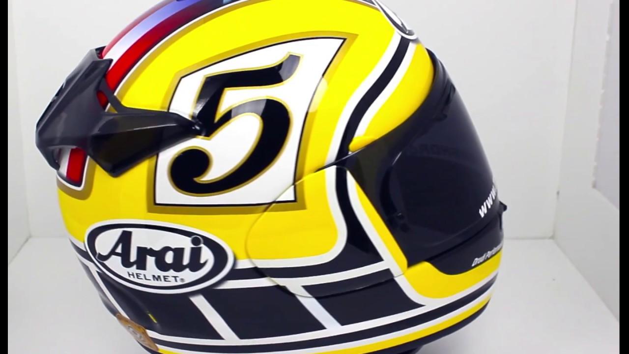 arai chaser x motorcycle helmet edwards legend yellow. Black Bedroom Furniture Sets. Home Design Ideas