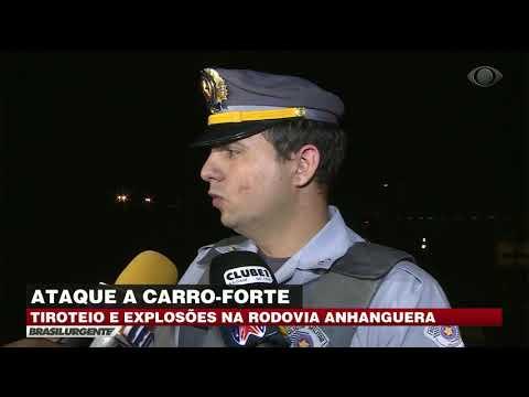Assalto a carro-forte na Via Anhanguera
