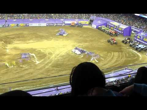 Monster truck jam reliant stadium part 2