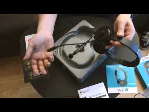 Imdur's Turtle Beach NLA Wii U Headset Unboxing