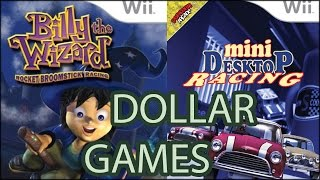 Dollar Games - Billy the Wizard and Mini Desktop Racers