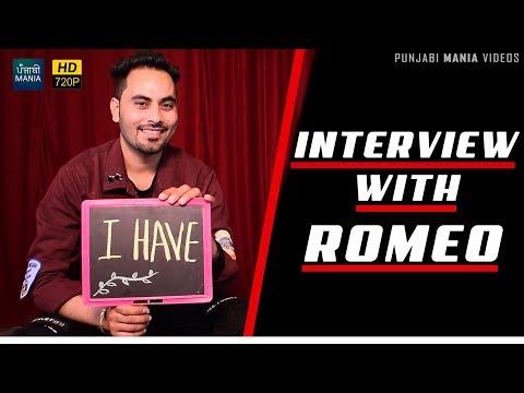 Interview with Romeo | Sten Gun | Latest Punjabi Singer Interview