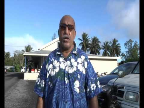 Pukapuka/Nassau arrives - CITV News 7 July 2015