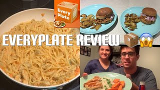 EveryPlate Review First Box Ever 📦🤗  Everyplate Mealdelivery Mealsubscription