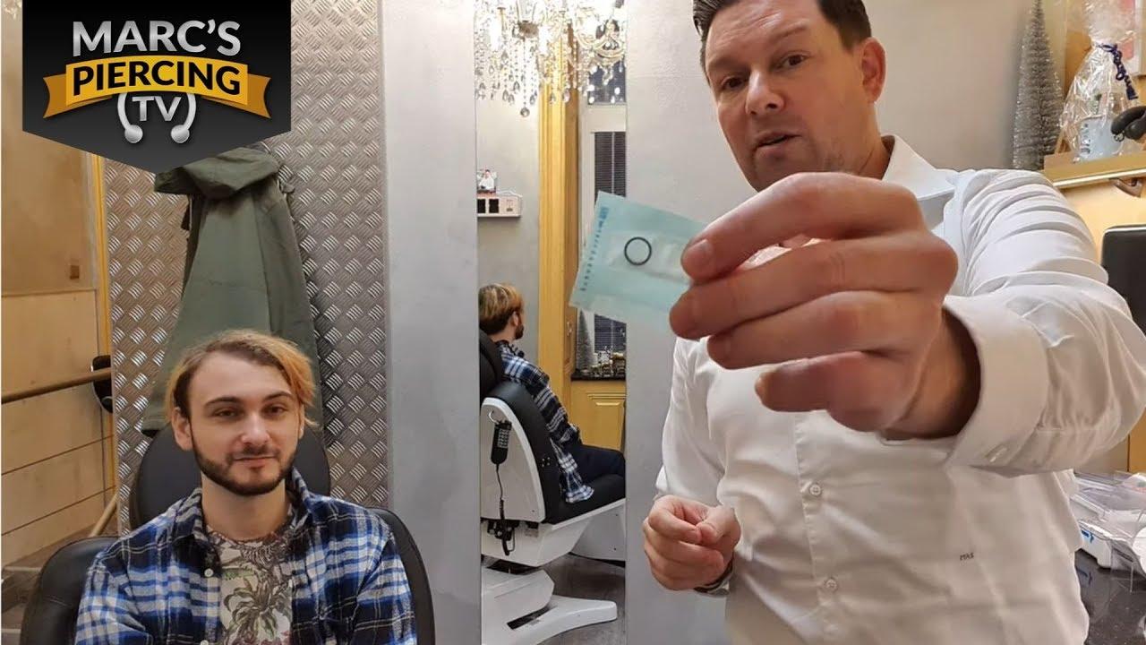 Mann nasenpiercing 11 Piercingstudios