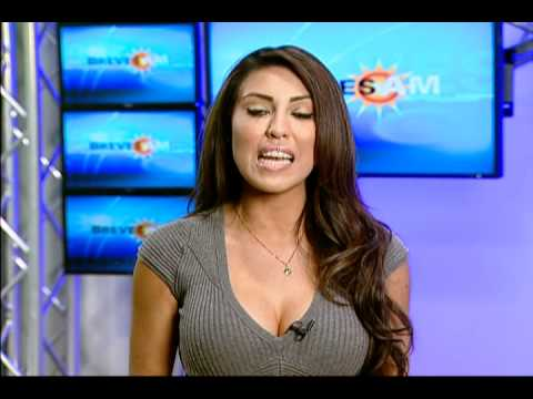 latina personalities Hot tv