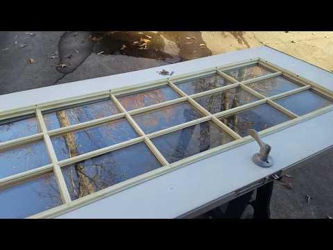 Door Glass Insert Replacement - Yellow Door Window Grills