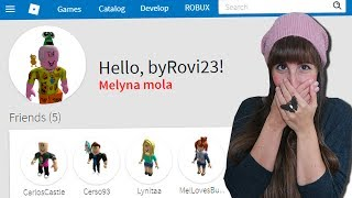 MY GIRLFRIEND ROBS MY ROBLOX ACCOUNT