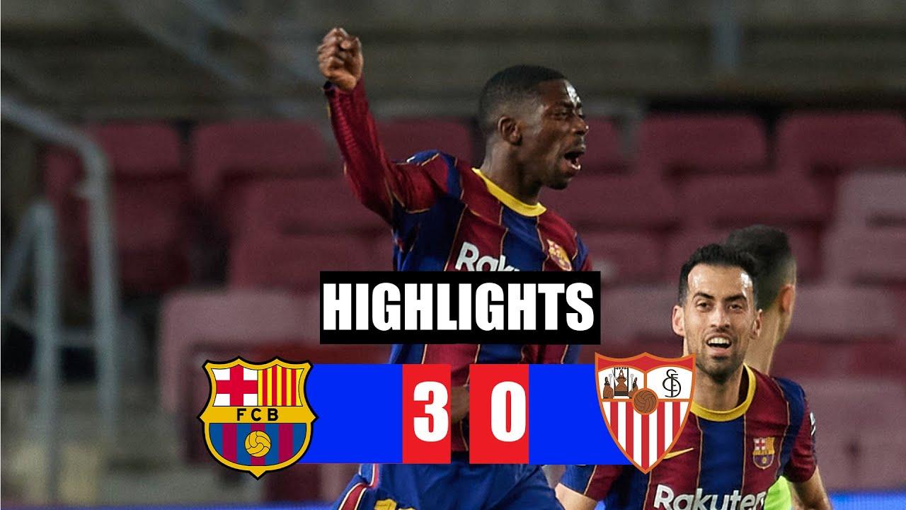 Download Barcelona vs Sevilla 3-0 All Goals & Highlights 03/03/2021 HD