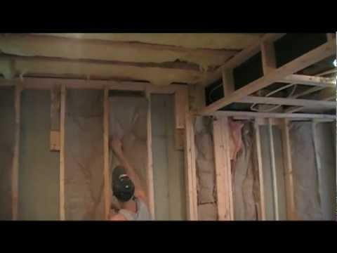 How to install fiberglass batt insulation vapor barrier for Roxul insulation vs fiberglass insulation