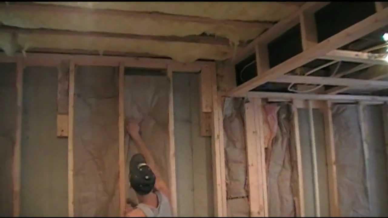 basement wall ideas not drywall.  How to Insulate your finished basement YouTube