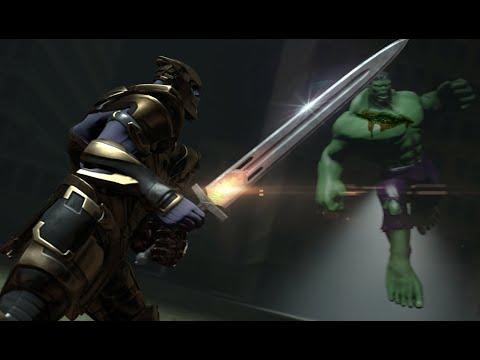 Hulk VS Thanos Rematch | Full Animated Battle | Avengers Endgame