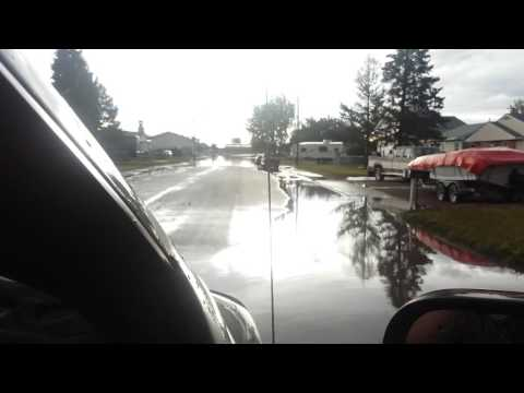 Flash Flooding in Great Falls, MT Part 1