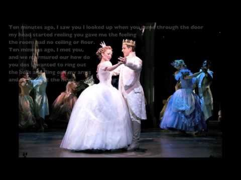 Cinderella Broadway 2013 - Ten Minutes Ago Lyrics