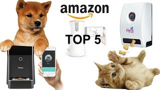 TOP 5 PET TOYS & PET FEEDER ON AMAZON ► CONTROLLED WITH YOUR SMARTPHONE