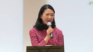 紺野美沙子さんトークイベント「あなたが輝く言葉とメロディ」