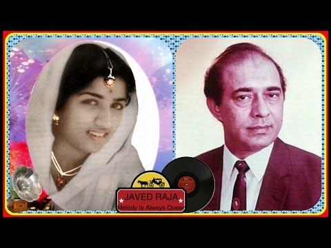 .TALAT & LATA-Film-MEHARBANI-[1950]-Bata Ae Chaand Hum Kaise-[Great Gem-Record Version]