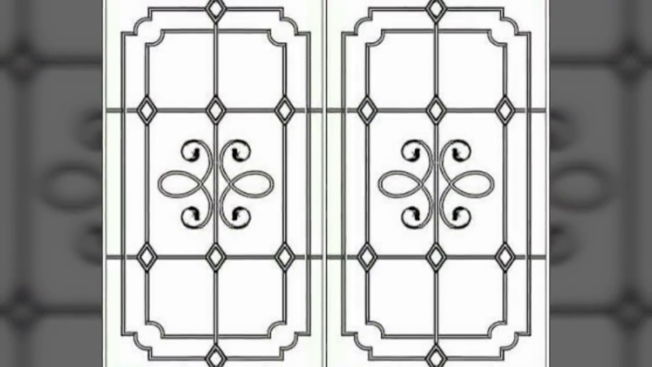 Window grill design for modern Homes - YouTube