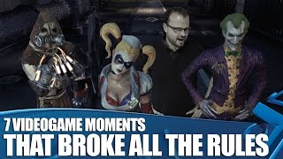 7 Outrageous Videogame Moments That Broke All The Rules