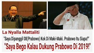 La Nyalla Bongkar Prabowo Partai Gerinda Minta Mahar Rp. 40 - Rp. 170Milyar