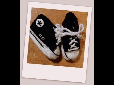 Tutorial uncinetto le scarpine bebè modello