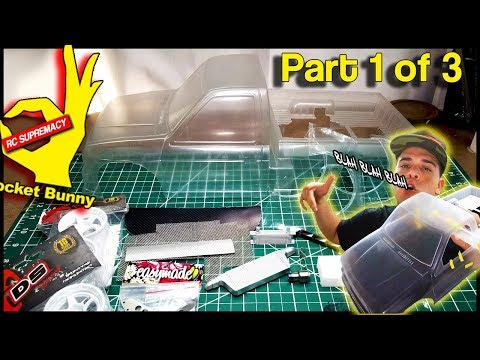 Custom RC DRiFT Build (PT 1/3) SCRATCH Built 1:10 Scale - Roll Cage + MORE