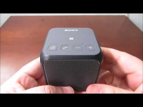 World's Smallest Speaker? Sony SRS-X11 speaker. Best of the Best!!!