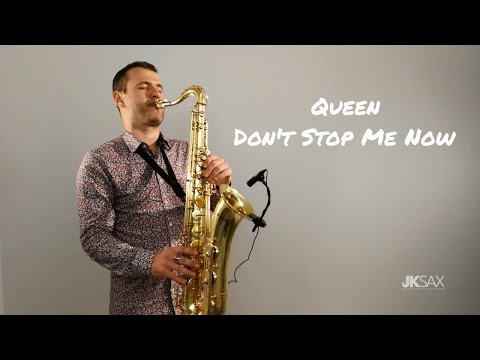 Queen - Don&39;t Stop Me Now - JK Sax Cover