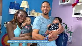 Conheça a história de Rafaela, o menor bebê já nascido no Brasil