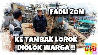 Tiru Jokowi Ke Kampung Nelayan, Fadli Zon Tidak Disapa, Malah Diolok Warga! Huuuuuu….!