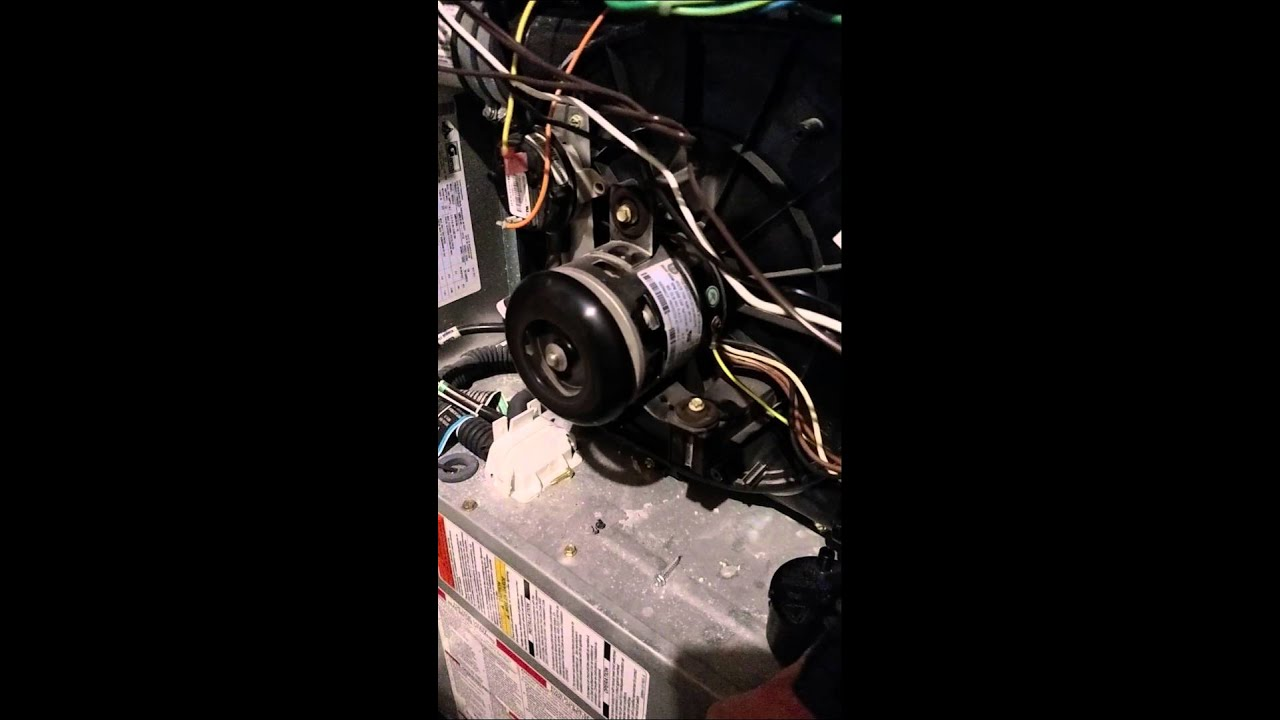 Furnace Blower Noise : Buzzing sound coming from furnace blower fan youtube