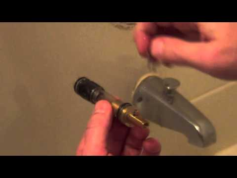 How To Remove Stuck Moen Tub Faucet Stem Without Special Tool