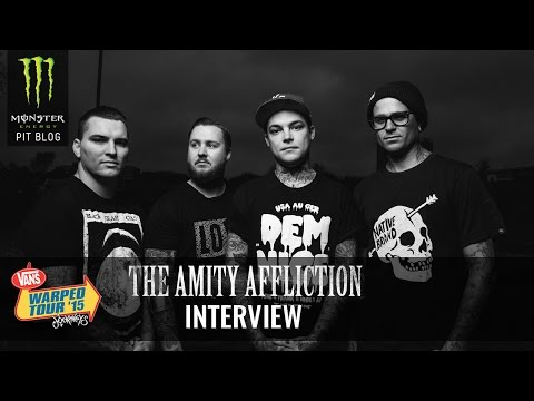 2015 Monster Energy Pit Blog: The Amity Affliction Interview